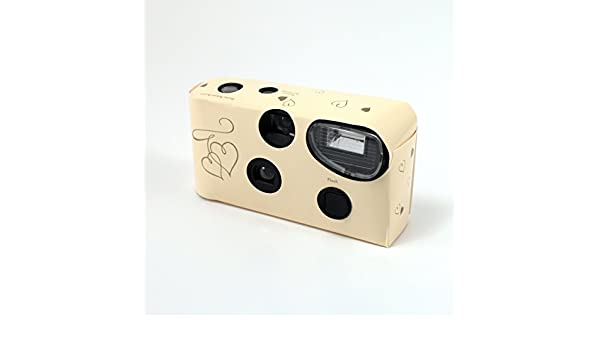 Disposable Camera with Flash Ivory Pack of 5