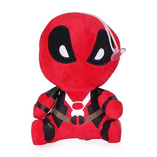 SSRS Titan Held Serie Avengers Puppe Deadpool Plüsch Mädchen Spielzeug Comic-Figuren Comics Figur Marvel Rächer Unendlichkeit Krieg Kinder Spielzeug (Größe: 25 cm) (Lego Deadpool Spielzeug Marvels)
