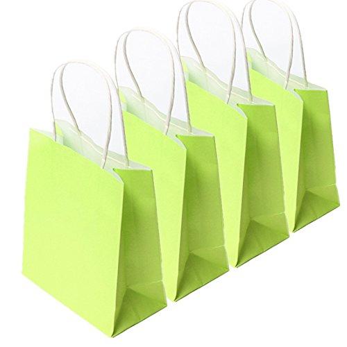 kingso-10-x-sac-en-papier-kraft-rangement-pour-cadeau-fete-vert