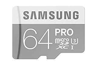 Samsung PRO Plus Micro SDXC 64GB bis zu 90MB/s lesen, bis zu 80MB/s schreiben, Class 10 Speicherkarte (inkl. SD Adapter), grau/weiß (B0111EITOM) | Amazon price tracker / tracking, Amazon price history charts, Amazon price watches, Amazon price drop alerts