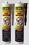 Petec 94131 Multifunktionelle Nahtabdichtung, 310 ml, Grau