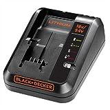 BLACK+DECKER BDC2A-QW Chargeur de batterie 2 Ah, Noir