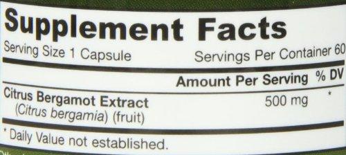 Jarrow Citrus Bergamot (500mg, 60 Vegan Capsules)