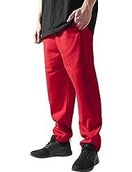 Urban Classics Herren Sporthose Sweatpants-Rot ,S