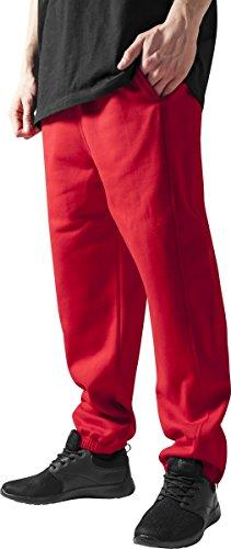 Urban Classics TB014B Herren Sporthose Sweatpants,Rot,XL