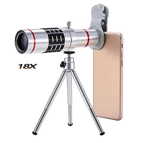 MAI&BAO Monocular Telescope Camera Lens 18x Flexible Kamera Stativ beobachten das Spiel, Konzerte,...