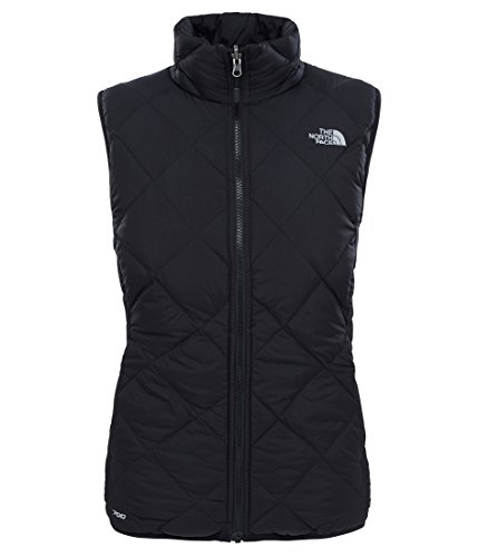 Damen Jacke THE NORTH FACE Zip In Reversible Down Weste (Schwarze Damen North Face Weste)