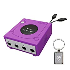 Gam3Gear Brook GameCube GC para SW Adaptador para Nintendo Switch Super SW Controller con Gam3Gear Keychain