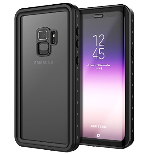Wendapai Samsung Galaxy S9 wasserdicht Hülle zum Samsung Galaxy S9 Schockproof staubdicht Hülle zurück Hülle Full Body Schutz Defender Hülle Hintergrund-Fall