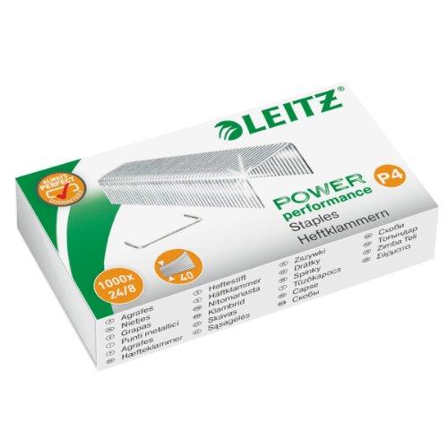 Leitz Heftklammer, 24/8 mm, verzinkt, 1000 Stück