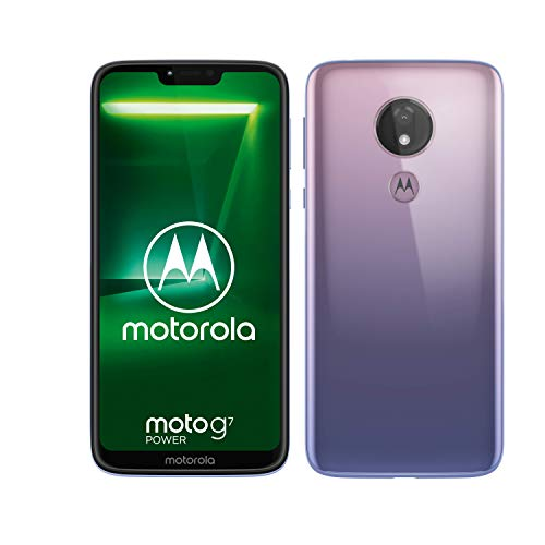 motorola moto g7 Power 6.2-Inch Android 9.0 Pie UK Sim-Free Smartphone with 4GB RAM and 64GB Storage (Single Sim) – Violet Best Price and Cheapest