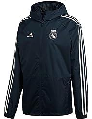 adidas Real Madrid Chubasquero, Hombre, ...