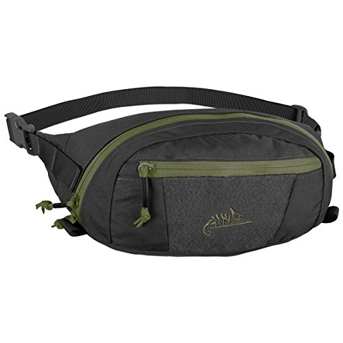 Helikon-Tex Waist Pack Bandicoot Black / Olive Green A (Loop-seitenteile)