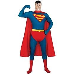Rubbies - Disfraz de Superman para hombre, talla XL (215186)