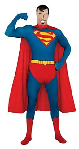 Dorigine Costume Superman - Déguisement Seconde peau Superman? adulte - XL