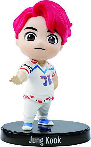 BTS mini figura de vinilo Jungkook, miembro banda coreana (Mattel GKH75)
