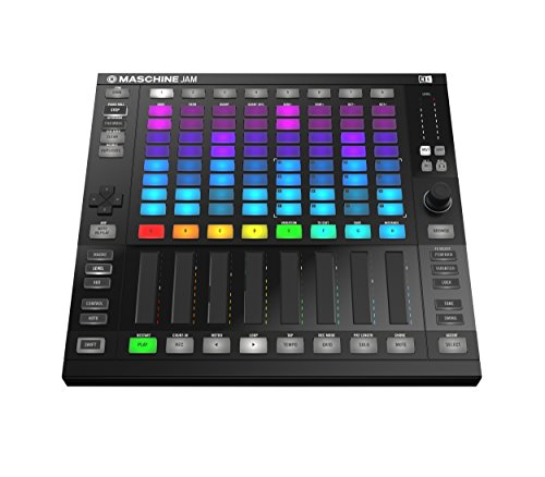 Native Instruments Maschine JAM Produktions-Performance-System schwarz