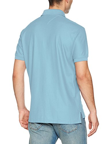 Tommy Hilfiger Herren Poloshirt Hilfiger Regular Polo Blau (Infinity 409)