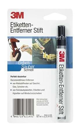 3M LABELREM Stylo enlève-étiquettes 8,2 g pour se débarrasser des restes d'autocollants et de vignettes (Import Allemagne)