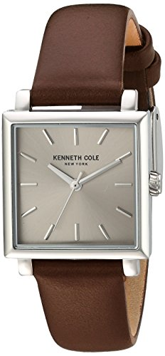 kenneth-cole-new-york-donna-classic-al-vestito-in-acciaio-inox-e-orologi-colore-marrone-model-100308