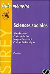 Sciences sociales - Aide-mémoire