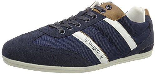 bugatti-f470563-scarpe-da-ginnastica-basse-uomo-blu-dklblau-cognac-427-42-eu