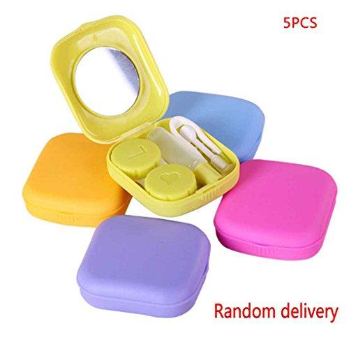 Rekkles Home Mode tragbare Kontaktlinse-Kasten-Kasten-Objektiv-Speicher-Halter Container
