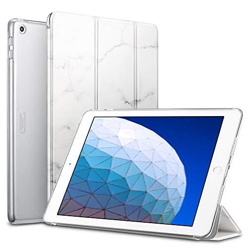 ESR Marmor Design Hülle kompatibel mit iPad Air 3 2019 10.5 Zoll - Ultra Dünnes Smart Case mit Auto Schlaf-/Aufwachfunktion - Kratzfeste Schutzhülle für iPad 10.5