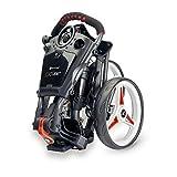 Motocaddy Chariot de Golf Compact à 3 Roues Noir/Rouge
