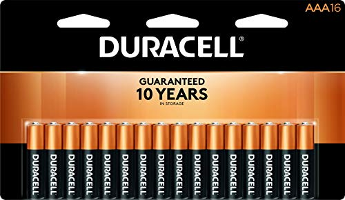CopperTop Alkaline Batteries with Duralock Power Preserve Technology, AAA, 16/Pk, Sold as 1 Package Duracell Coppertop 9v Batterien