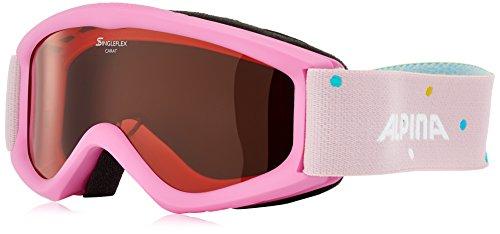 Alpina Kinder Carat S Skibrille, Rose, One Size