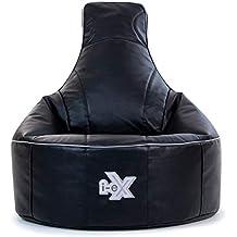 Silla de videojuegos i-eX® Rookie -Cuero sintético – Puf infantil para videojuegos