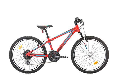 fahrraeder maedchen BIKE SPORT LIVE ACTIVE Kinderfahrrad 24 Zoll Bikesport ALFHA Mädchenfahrrad Shimano 18 Gang (Rosa Matte)
