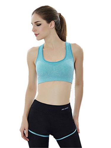 YeeHoo Mujeres Deportes Racerback Fitness Yoga Leggings alta cintura pantalones bikini conjuntos
