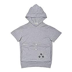 Mewgaroo Pet Cat Dog Holder Hoodie Cat Eared Kangaroo Pouch Sweatshirt Cap Shirt