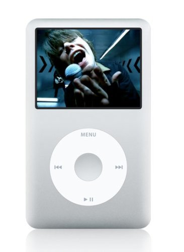 Apple iPod Classic 80 GB Silber MP3 Player Musik Player (80 GB, Silber) -