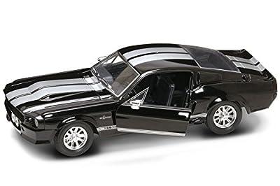 Lucky Diecast 1:24 Ford Shelby Mustang GT 500 1967 schwarz GT500 von Lucky Die Cast