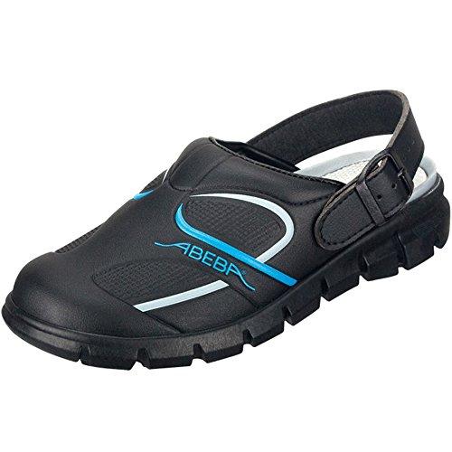 Abeba 7331-48 Dynamic Chaussures sabot Taille 48 Noir/Bleu