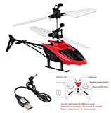 Ecocare Kids Induction Type 2-in-1 Flying Indoor Helicopter with Remote