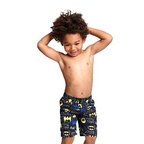 Zoggs Jungen Batman Water Shorts Badehose, Schwarz, Large/27-Inch