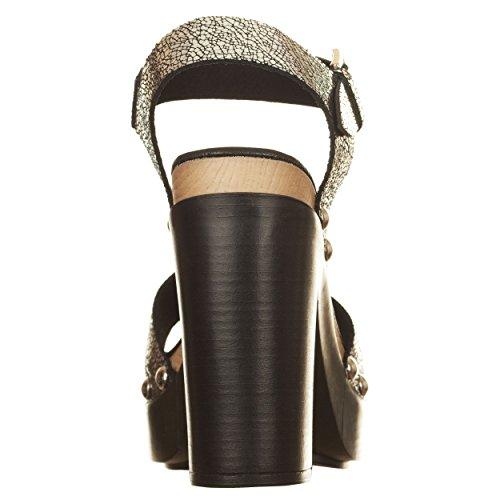 VialeScarpe  Sas-7588rlmag_39, Chaussures de ville à lacets pour femme argent argent 39 Argent