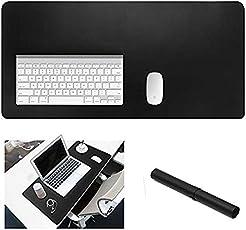Erweitertes Leder Gaming Maus Pad/Matte, Büro Schreibtisch Computer Leder Matte Mousepad, wasserdicht, ultra dünn 1,2 mm – 70x 40 cm