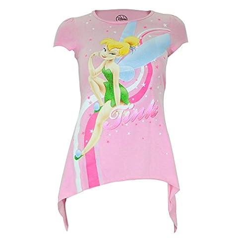 Tinkerbell - Schwoop Jugend Tunika T-Shirt für Mädchen - X-Large