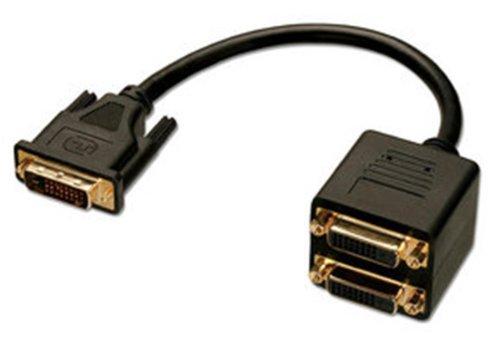 LINDY 41215 - DVI-D Splitterkabel, 2 Port