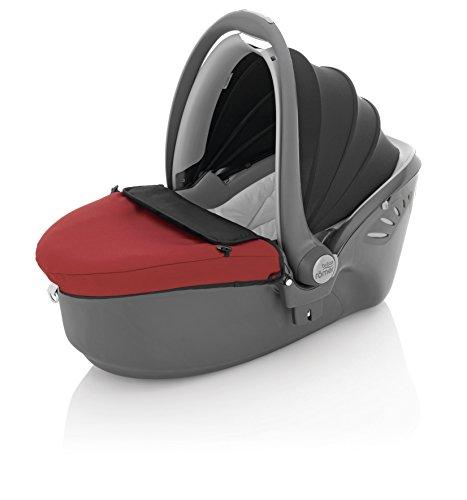 Preisvergleich Produktbild Britax Römer Autositz Baby-Safe Sleeper, Gruppe 0 (Geburt - 10kg), Kollektion 2015, Chili Pepper