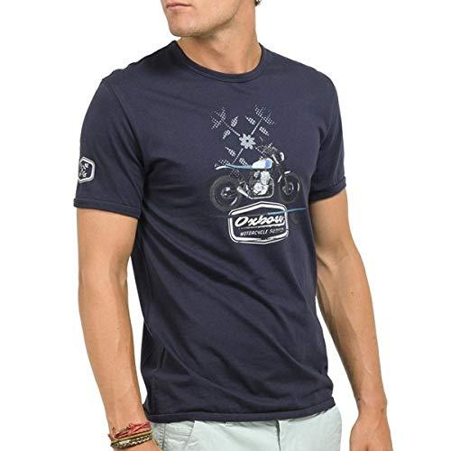 Oxbow TASMA T- T-Shirt Homme, Deep Marine, FR : L (Taille Fabricant : L)