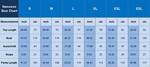 Nanxson(TM) Unisex Baumwolle Seide Tai Chi Anzug Lose Training / Workout YDTZM0003 (rosa, L)