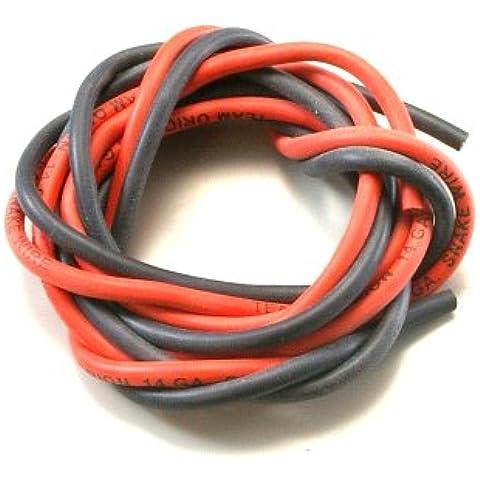 14 calibro filo nero / rosso ORI40300 (Giappone import / Il pacchetto e il manuale sono scritte in giapponese)