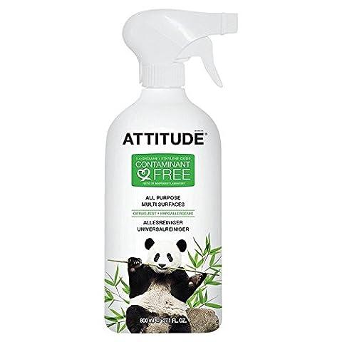 Attitude Multi Surface Cleaner Citrus Zest 800ml