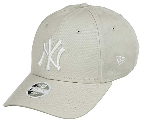 League Baumwolle (New Era Damen Cap Womens League Essential 9FORTY beige One Size)